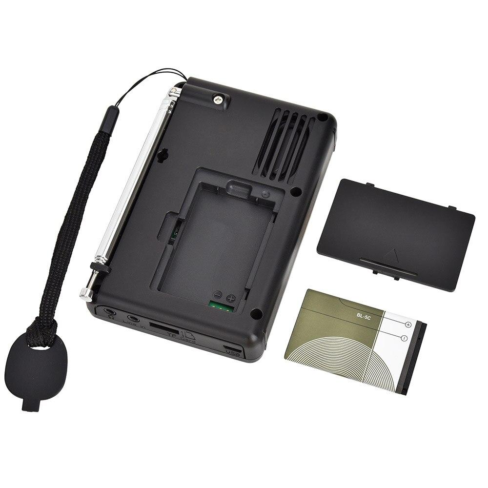 K-603 Full Band Radio Bluetooth FM AM SW Portable Pocket Radios MP3 Digital REC Recorder Support Micro SD TF Card Sleep Timer enlarge