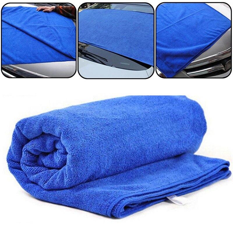 Салфетка для чистки автомобилей микрофибры синего цвета Полотенца для автомобиля WashingTool автомобильное транспортное средство очистки Крас...