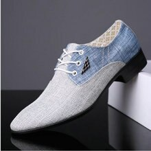 Grande taille 38-45 britannique mode hommes mariage affaires robe chaussures homme bout pointu richelieu Bullock bureau chaussures LE-03
