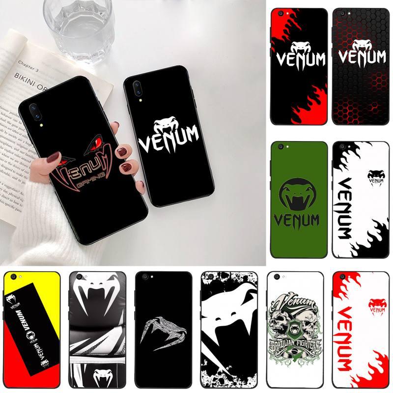 HPCHCJHM venum Black funda para teléfono celular para Vivo Y91c Y17 Y51 Y67 Y55 Y93 Y81S Y19 V17 vivo s5
