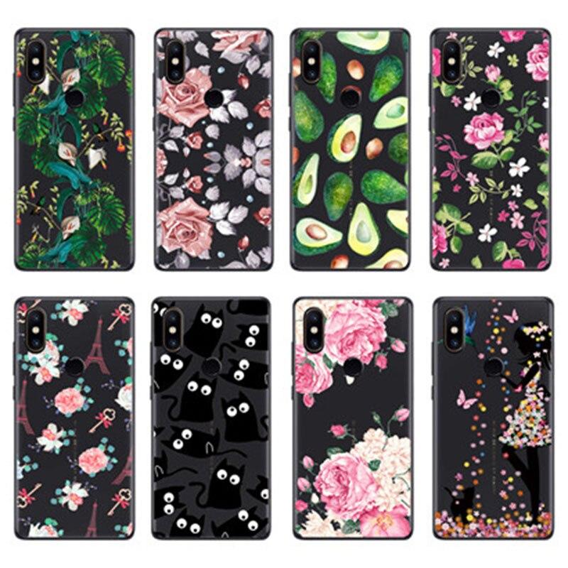 Silicone case For Xiaomi Mi Mix 2s Cases Clear Transparent Soft Tpu Back Cover For Xiaomi Mi Mix 2s 2 s Coque Fundas Bumper