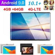4G LTE WIFI tablette Android 9.0 Pad 2.5D 10.1 pouces HD écran WIFI métal tablette PC double caméra dix Core 4G réseau