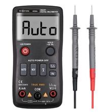 Multimètre numérique RM408A NCV True RMS avec testeur de température compteur de tension à Transistor ca/cc à variation automatique 4000 comptes