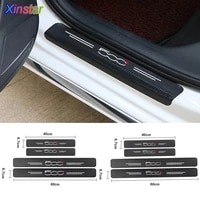 new car protector door sill stickers for fiat 500 500x 500l