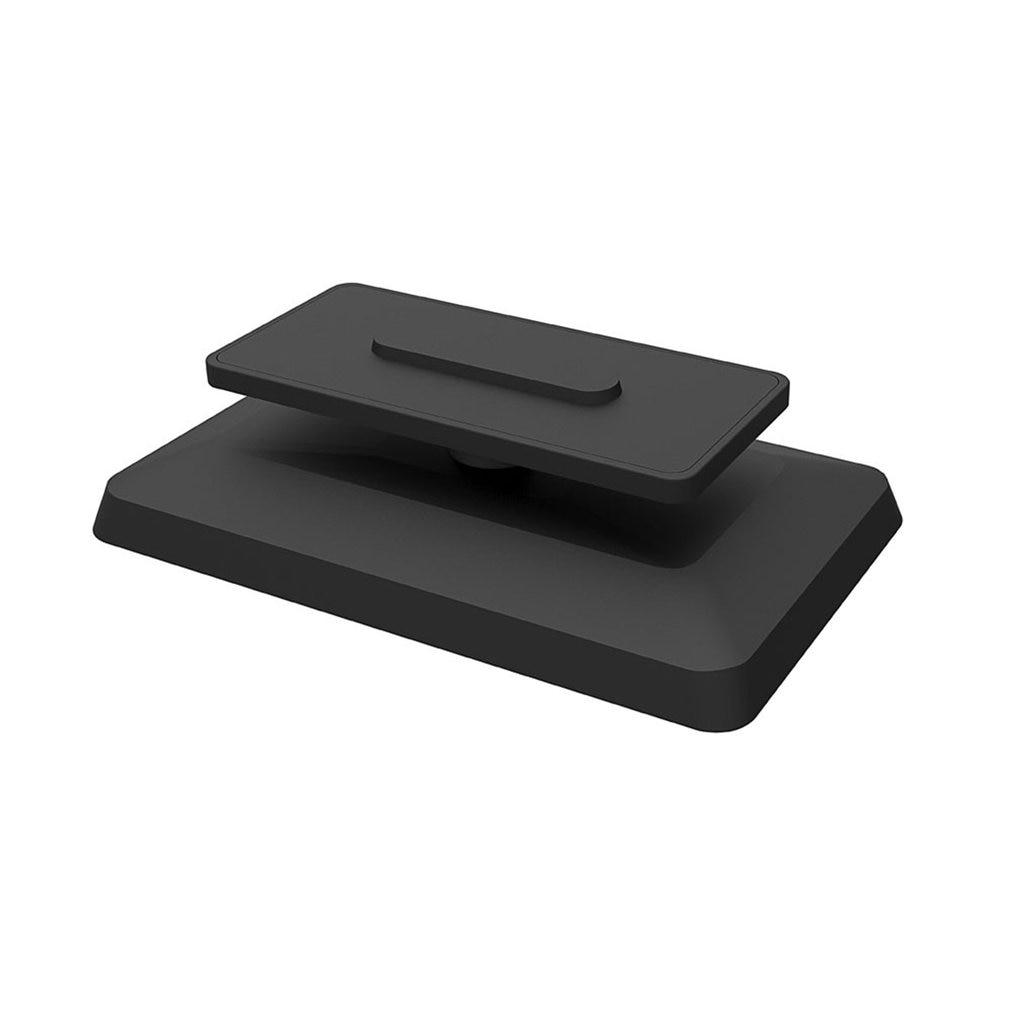 Soporte de aluminio antideslizante para Amazon Echo Show 8, soporte giratorio ajustable...