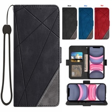 A sincere gift Spliced wallet mobile phone cover For OnePlus 5 OnePlus 5T Credit card slot wrist Wom