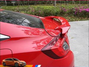 ABS Car Rear Wing Trunk Lip Spoilers Fits For Honda Civic 4 door sedan 2016 2017 2018