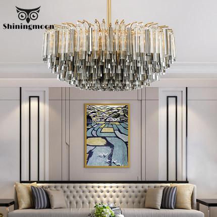 Lámpara de araña moderna de cristal de Murano, candelabros de cristal de lujo de estilo nórdico, accesorios de iluminación colgantes para la decoración del hogar, Hotel, restaurante