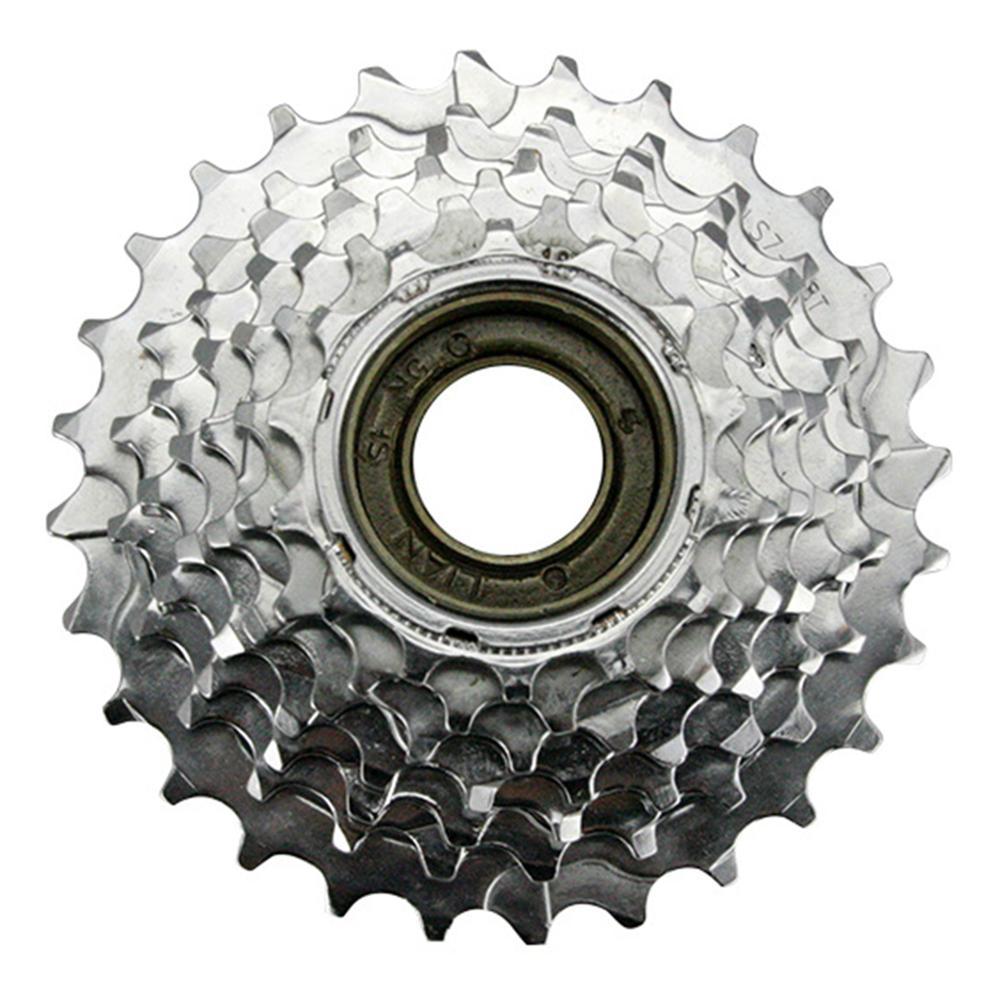 Roue libre de vélo de vtt de 7 vitesses 14-16-18-20-22-24-28T roue libre en acier de roue libre de filetage pour le pignon de Shimano SRAM
