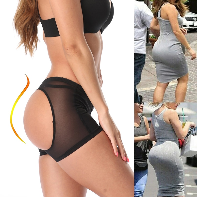 Butt Lifter Shorts Underwear Briefs Women Body Shaper Control Panties Sexy Ass Lift Up Panty Boyshorts Buttock Open Hip Shaping
