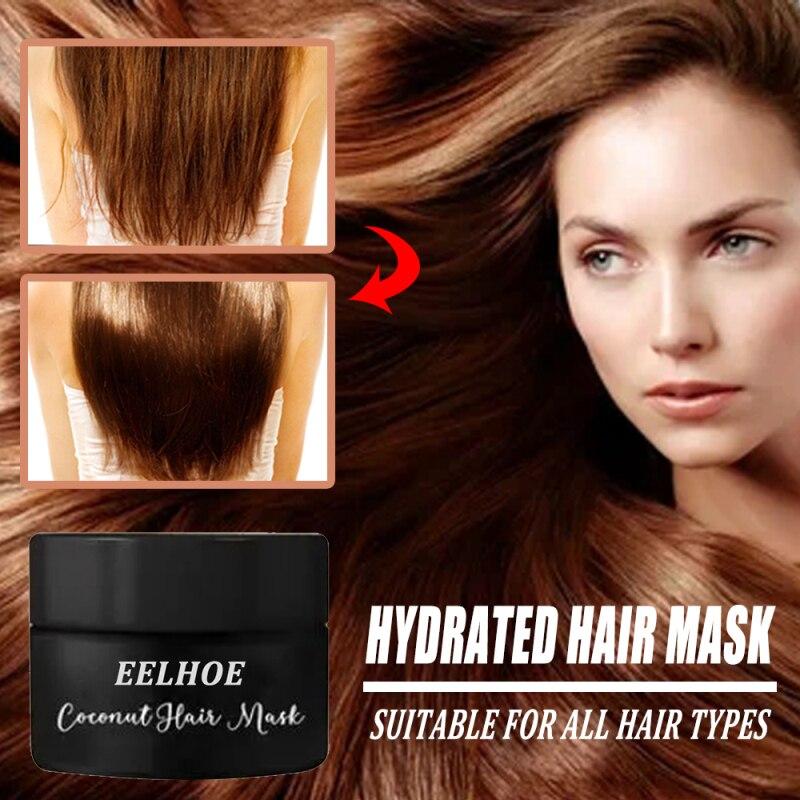 Mascarilla para el cabello hidratado, acondicionador adecuado para todos los tipos de...