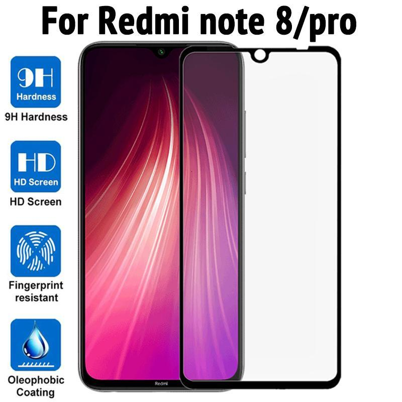 5D Protector de pantalla para Xiaomi Redmi Note 8A 7A Nota 8 7 6 Pro Poco F1 K20 Mi 9T Pro 9 SE CC9 CC9E A3 Lite cubierta completa de vidrio templado
