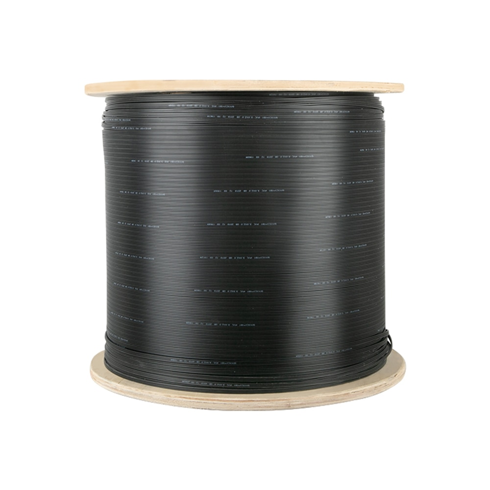 12Cores FTTX Outdoor Fiber Optic Drop Cable Single Mode G.657A1 LSZH Indoor 12 Fibers Optical Flat Cable Core 1000meters enlarge