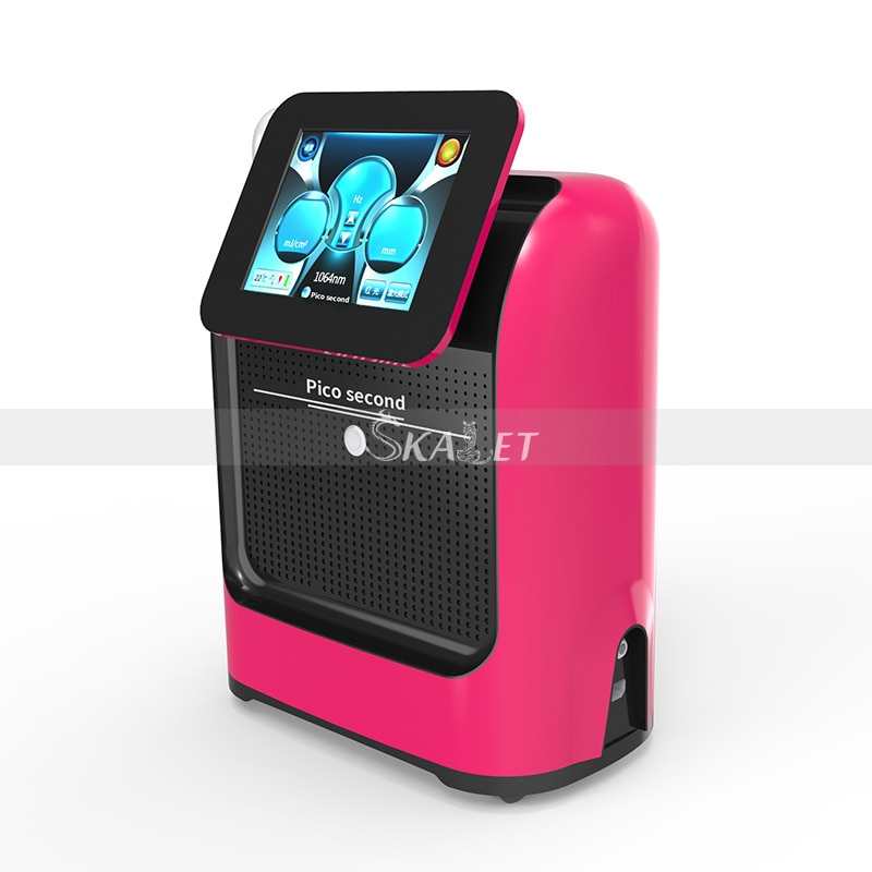 Máquina láser de Pico Nd Yag de alta calidad, eliminación de tatuajes de puntos oscuros 1320 755 1064 532nm, equipo de belleza láser