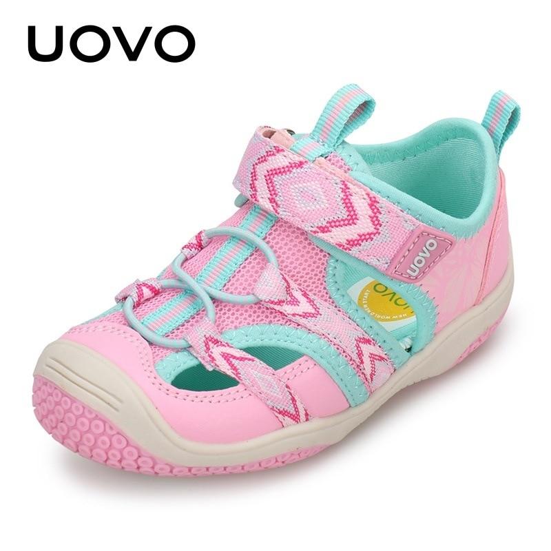 Uovo طفل فتاة الصنادل جديد 2020 الفتيات الصغيرات الصيف الأحذية الفتيان الاطفال الشاطئ أزياء عدم الانزلاق الرياضة الصنادل 2 3 4 5 6 سنوات الأزرق