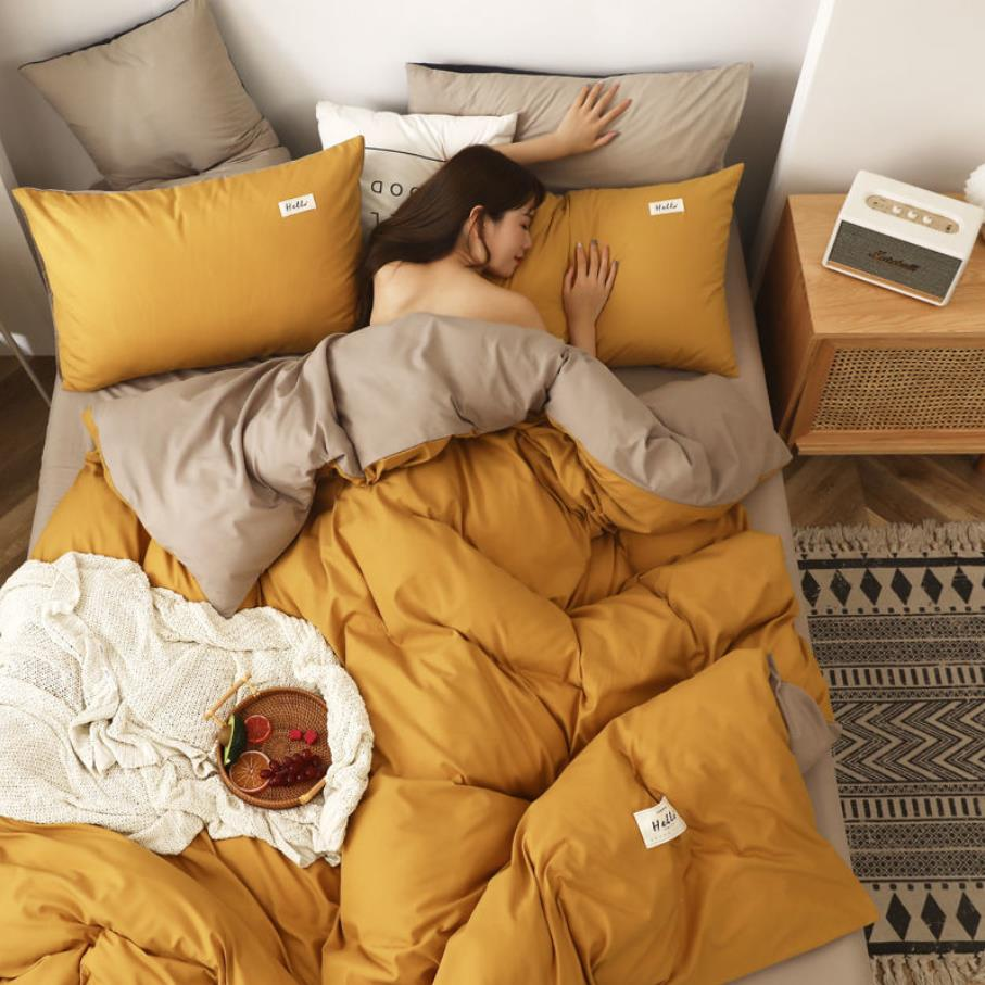 حاف الغطاء قسم رقيقة الشمال نمط مع 2 قطعة المخدة لحاف من القطن غطاء مزدوج زوجين السرير الملكة حجم (بدون لحاف) F0316