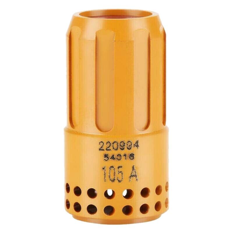 Boquilla de soldadura con tapa de retención de consumibles de plasma de soplete de corte de anillo giratorio 220994