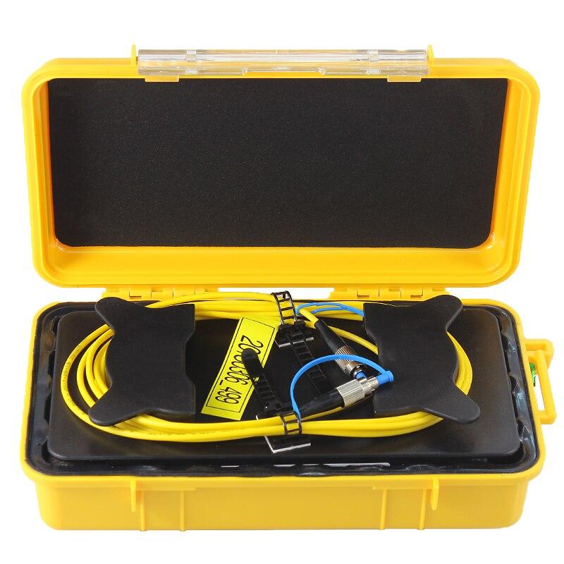 De fibra óptica OTDR Cable de lanzamiento caja de 1km 850/1300nm MM...