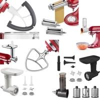 kitchenaid 8 piece pasta oven set accessories meat grinder blender accessories for kitchenaid stand mixers chocolate blending