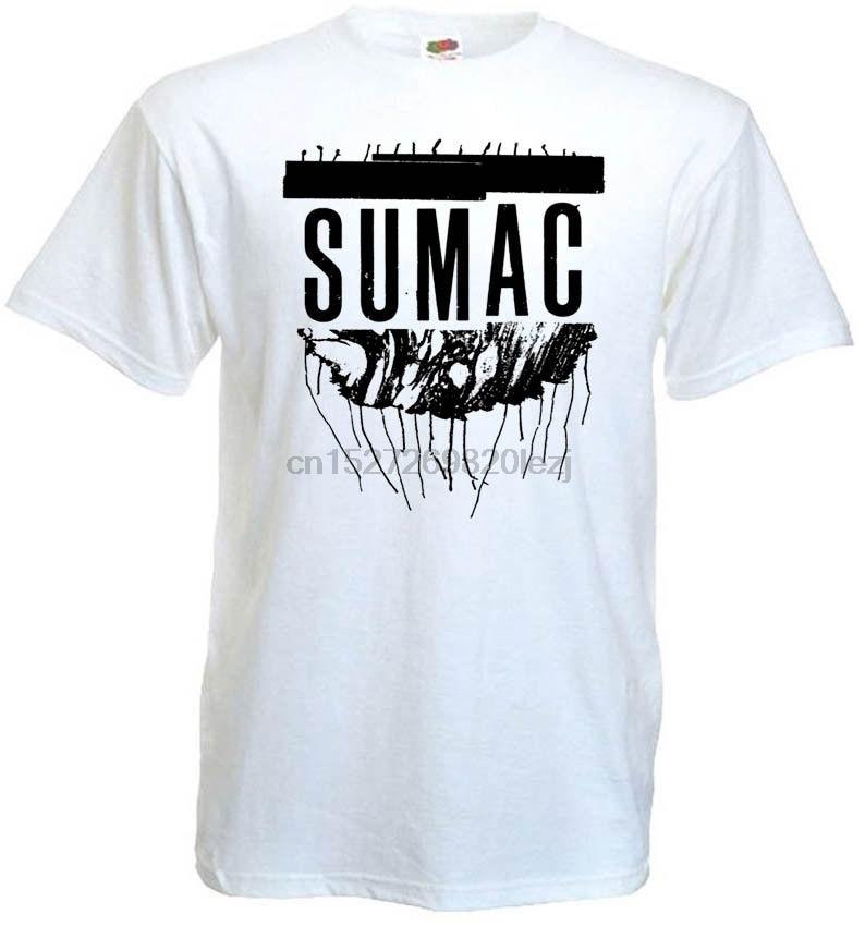 Sumac V8 Camiseta blanco lodo Doom Metal todos los tamaños S 5Xl