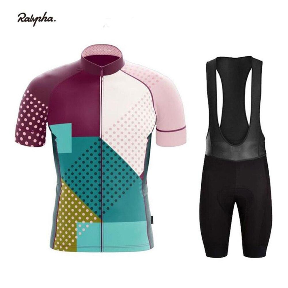 Ralvpha 2020 nueva ropa de Ciclismo hombres Ropa de bicicleta ropa Ropa Ciclismo Hombre MTB Maillot de bicicleta de carretera medias de Triatlón