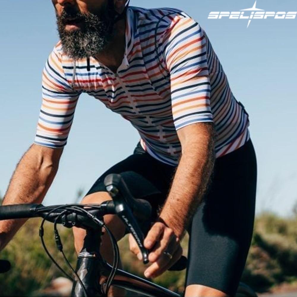 Conjunto de Ropa de Ciclismo para hombre, Conjunto de Jersey de manga...