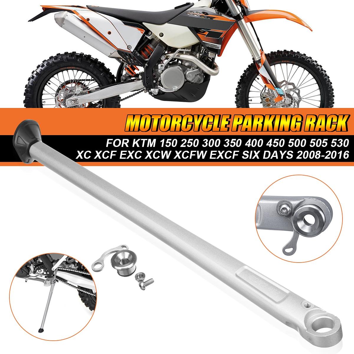 Motorcycle Parking Rack Side Kick Stand Kickstand For KTM For HUSABERG For HUSQVARNA 150 250 300 350 400 450 500 505 530 XC XCF