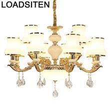 Suspension Industriele cristal Hanglampen Voor Eetkamer Suspension Luminaire déco Maison Lampen moderne Suspension