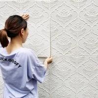 self adhesive wallpaper embossed wall panel living room bedroom childrens room decoration wall stickers waterproof foam brick