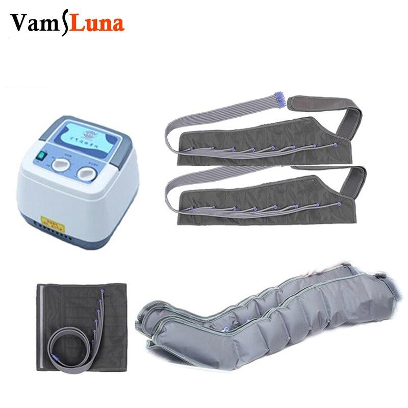 ضغط الهواء مع 8 غرف الساق الذراع الخصر مُدلك بالاهتزاز يلتف الهوائية Masaage الاسترخاء وتعزيز الدورة الدموية
