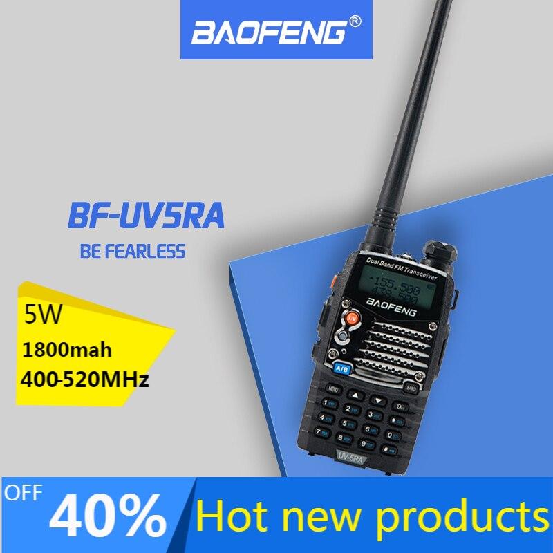 Рация Baofeng UV 5RA для полиции, сканер радио Vhf Uhf, двухсторонний радиокоммуникатор для Baofeng Ham Raido Boafeng Uv 5r