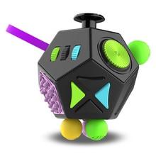 Mano EDC per autismo ADHD ansia sollievo Focus bambini 12 lati antistress Stress magico Fidget giocattoli