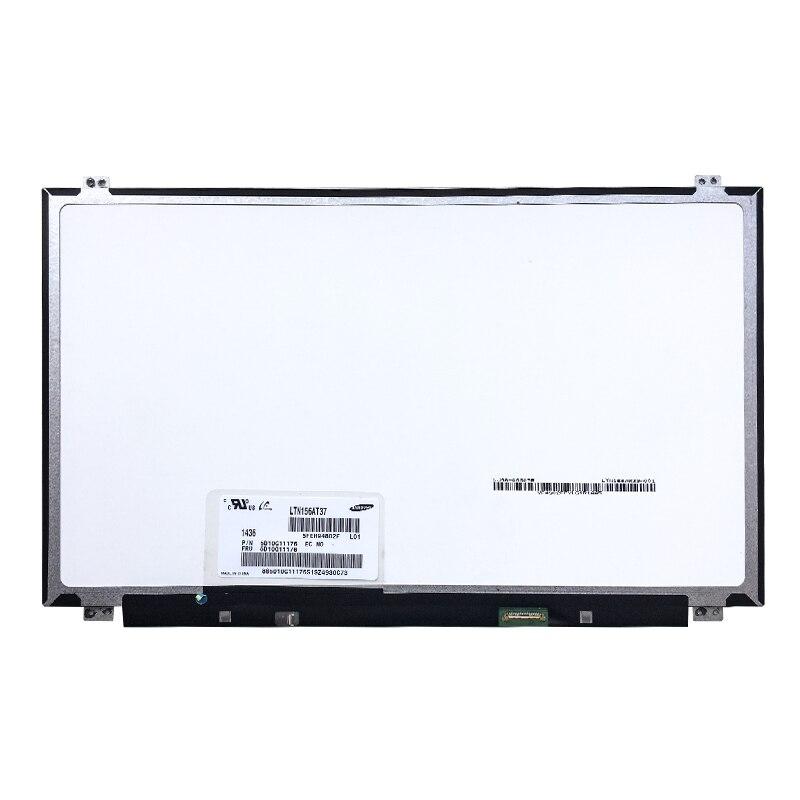 "15,6 ""pulgadas ordenador portátil pantalla LED 1366*768 30pin LTN156AT39 LTN156AT37 B156XTN04.0 B156XW04 v.7 v.8 NT156WHM-N12"