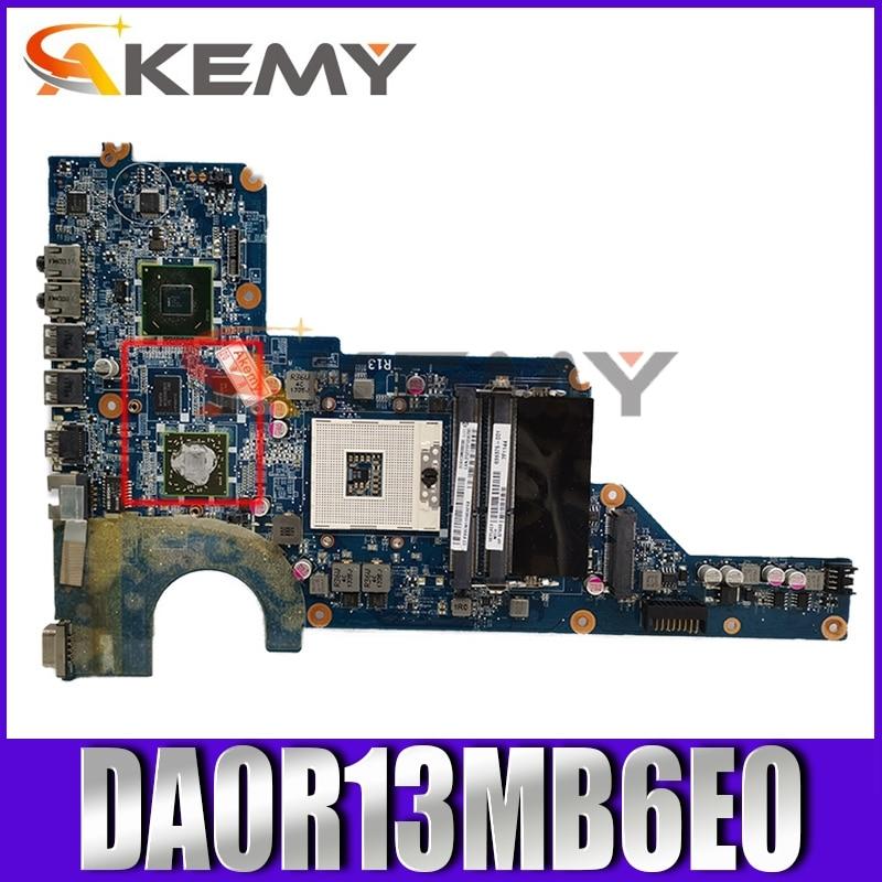 لوحة رئيسية للحاسوب المحمول 650199-001 da0robomb6e0 REV:E w 216-0809024 GPU لـ HP بافيليون G4 G6 G7 Series