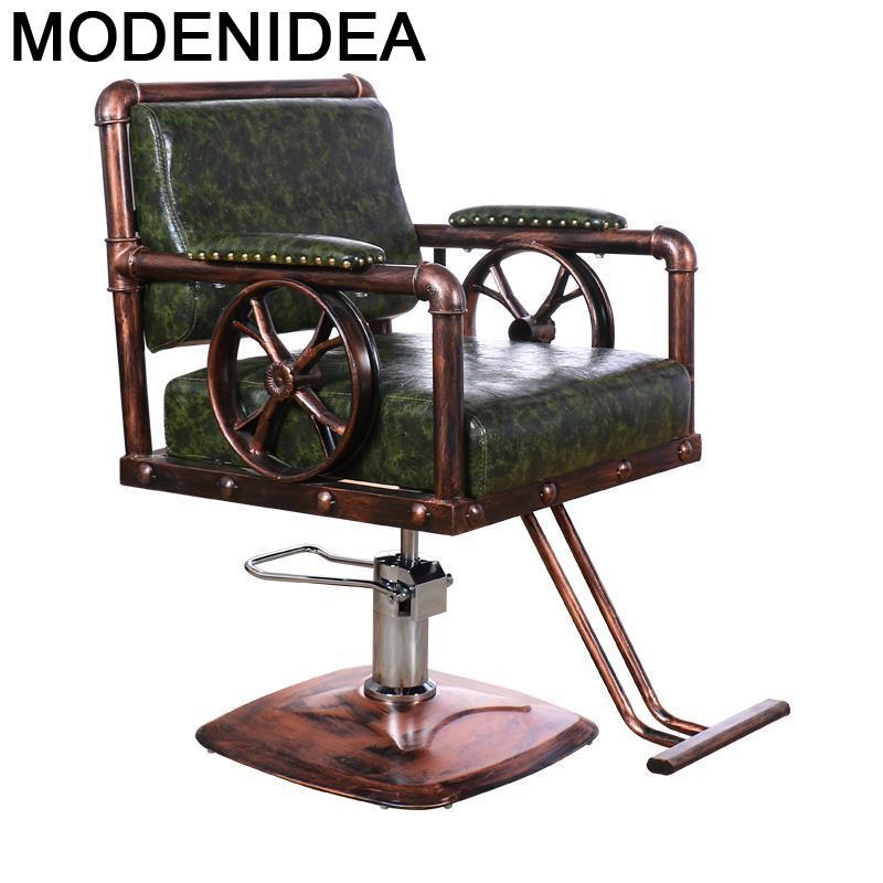 Многофункциональное кресло для салона красоты, парикмахерский стул, Барби, мебель для маникюрного салона, Silla Shop Cadeira Barbershop, парикмахерское ...