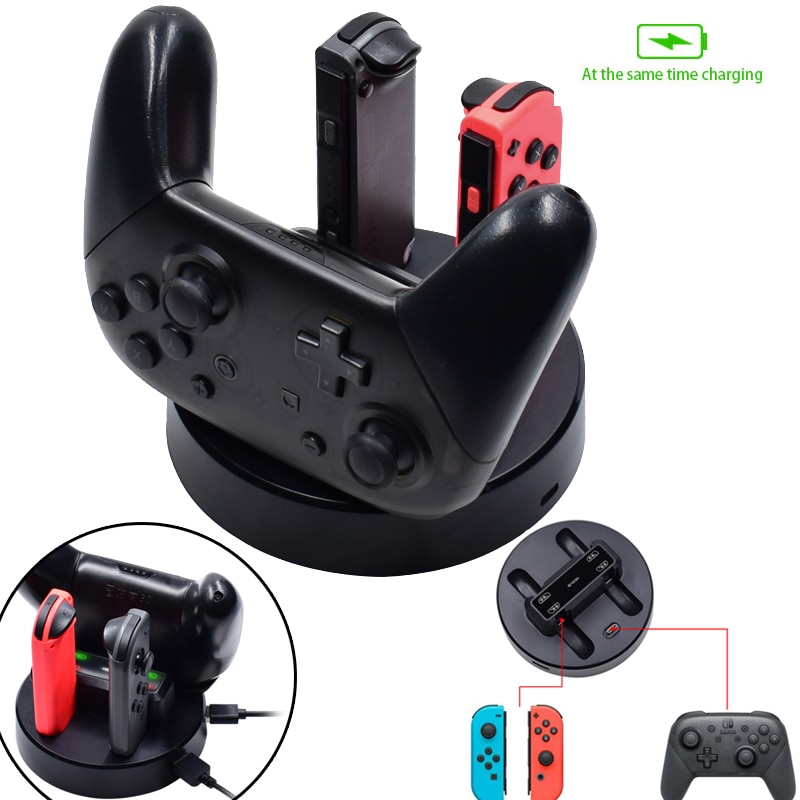 5 in 1 switch Joy-con handled charging game console seat charging for Nintendo Switch Console Multifunctional Seat Charging
