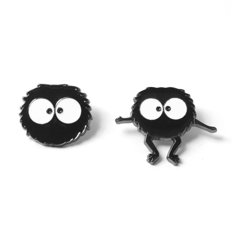 Anime Hayao Miyazaki Totoro Broche Emaille Figuur Pin Voor Rugzak Tas Jeans Kleding Badge Revers Pin Mode-sieraden Cadeau Vrouwen