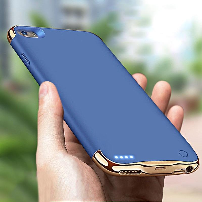 3500/4000 мАч зарядное устройство чехол для iPhone 6 6s 7 8 Внешний Аккумулятор Чехол Внешнее зарядное устройство чехол для iPhone 6 6s 7 8 plus