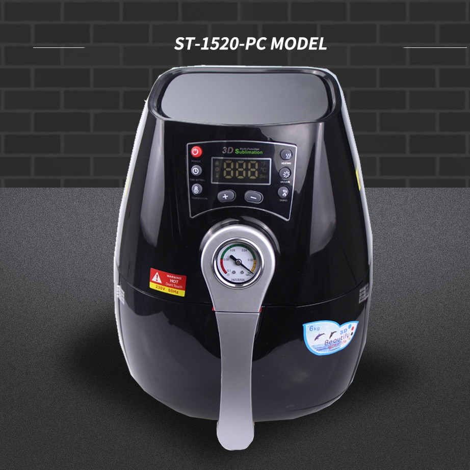 Мини сублимации вакуумная машина ST 1520 3D тепла Пресс машина для чехол для телефона s тепла Пресс машина Кружка сотовый Чехол для телефона при...