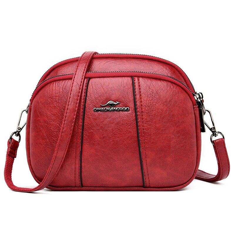 2020 HOT High Quality Women Handbag Luxury Messenger Bag Soft Leather Shoulder Fashion Ladies Crossbody Bags Female Bolsas Sac