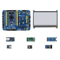 Waveshare Open746I-C STM32 Development Board Kit A for STM32F746IGT6 MCU Cortex-M7 32-bit integrates various standard interfaces