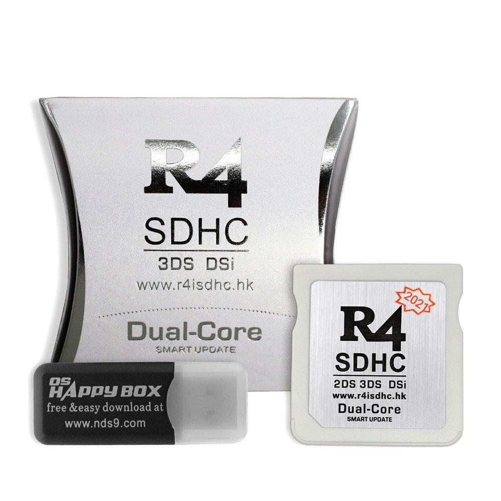 Adaptateur SDHC R4, carte mémoire numérique sécurisée, carte flash de jeu, matériau Durable, carte flash compacte et Portable