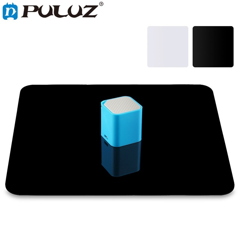Photography Acrylic Reflective Display Table Background Board For Desktop photography Black White Double Sides 20cm/30cm/40cm