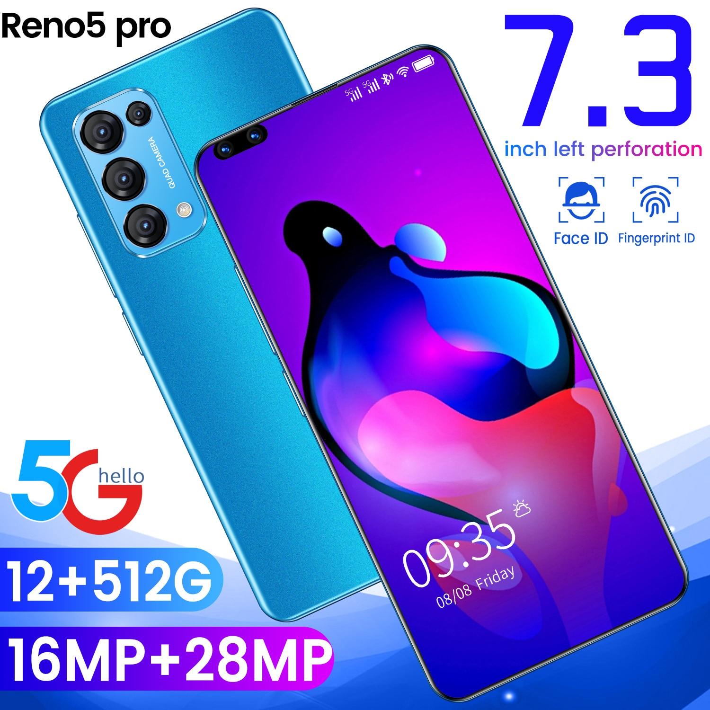 OPPI Reno5 Pro الهواتف الذكية 7.3