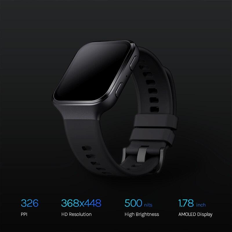 70mai Saphir Watch 70mai Smartwatches GPS Sports Tracker Heart Rate Monitor 5ATM Waterproof 70 mai Smart Watch APP Call Reminder