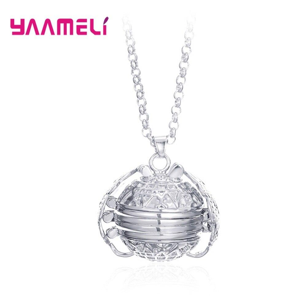 Кулон-из-стерлингового-серебра-925-пробы-с-волшебной-памятью-фотоальбом-ожерелье-Рамка-медальон-Крылья-Ангела-ювелирные-изделия-подарок-для
