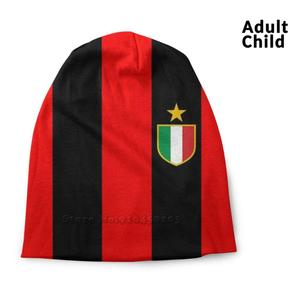Milan Beanie Knitted Hat Balaclava Hats Milan Maglia Kakà Van Bastone Gullit