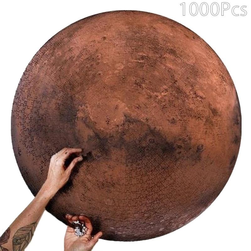 ¡Novedad de 1000 piezas! Rompecabezas de mercurio, rompecabezas de paisaje de Júpiter, rompecabezas difícil para adultos, juguetes educativos para niños