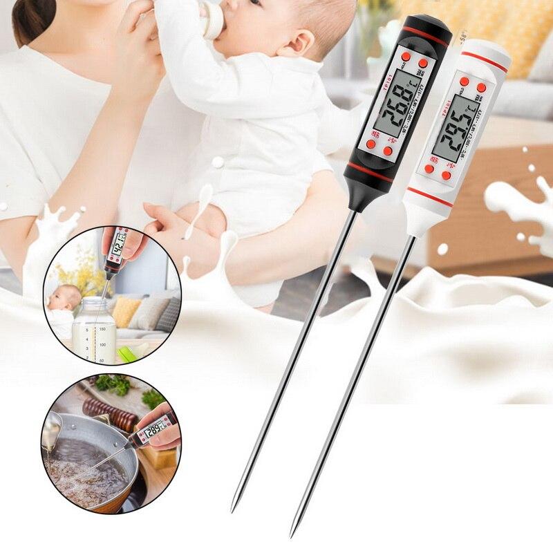 DIDIHOU termómetro Digital para carne, termómetro electrónico para barbacoa, termómetro para cocina, agua, leche, cocina, termómetro para horno
