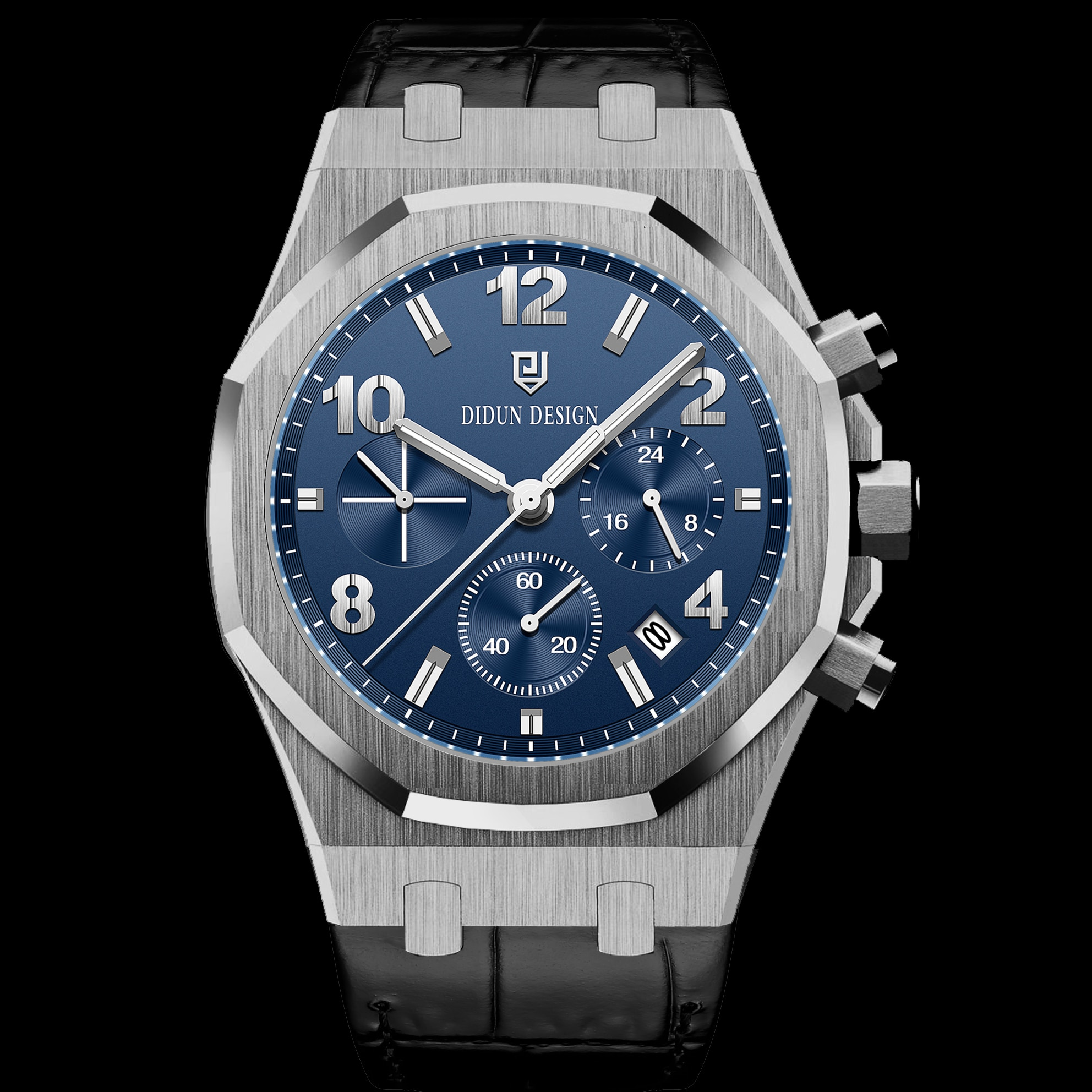 DIUDN 2012NEW Classic Luxury Suit Belt Quartz Men Watch Waterproof Military Top Quality Men's Fashio